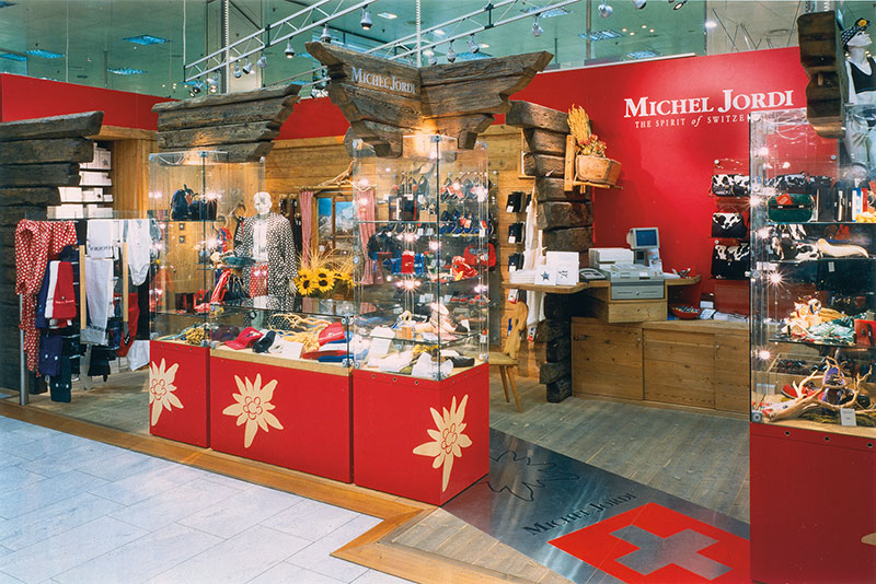 Michel Jordi, Swiss Ethno Boutique in Zurich