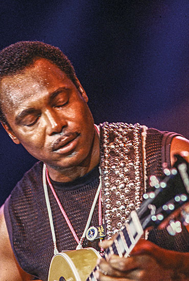Michel Jordi with George Benson