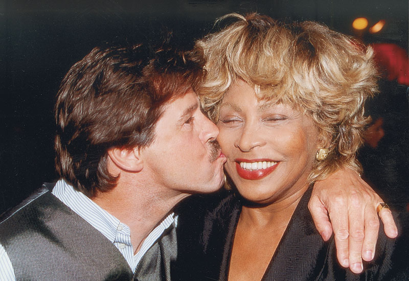 Michel Jordi with Tina Turner